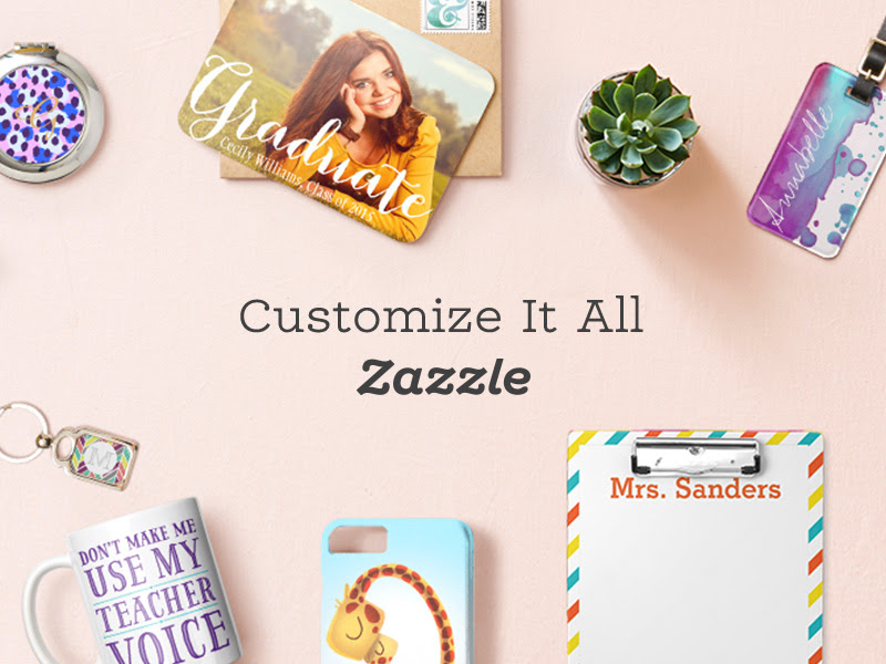 Customize It All on Zazzle.com