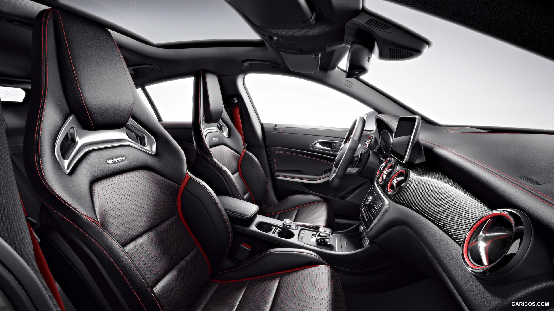 2015 Mercedes-Benz CLA 45 AMG Shooting Brake - Interior | HD Wallpaper #50 | 1920x1080