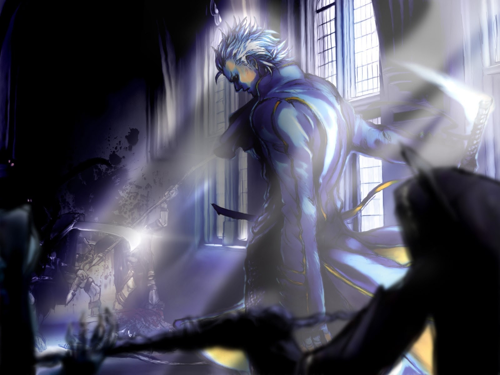 Devil May Cry Vergil 1600x1200 Wallpaper High Quality Wallpapers