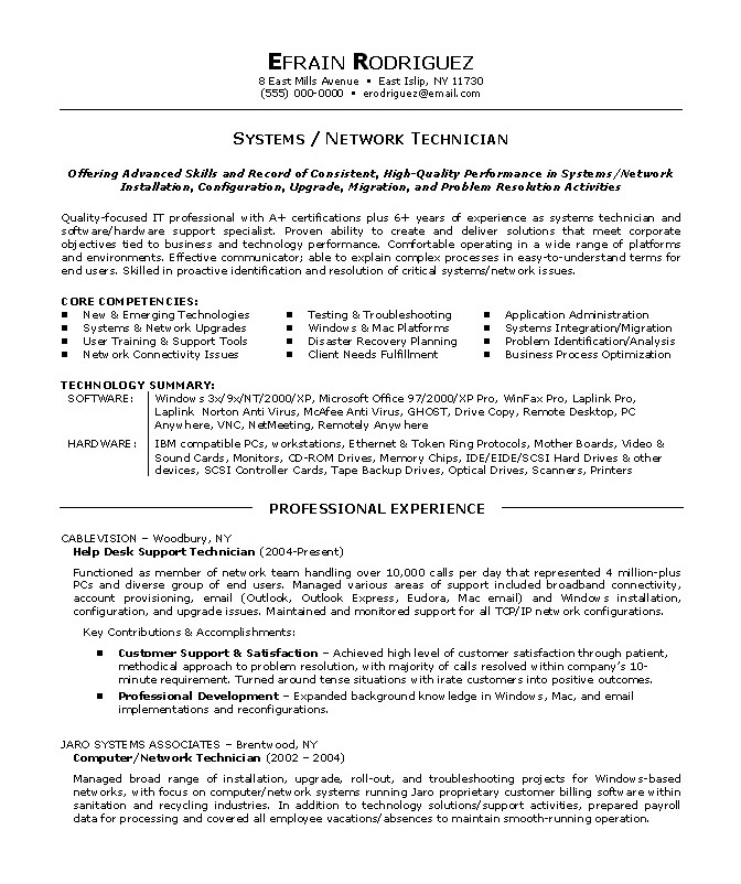 Cover Letter For Cio Position: Resume Format: Tamu Career Center Resume Templates