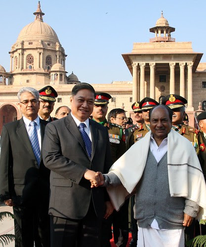 VISIT OF DEFENCE MINISTER OF THAILAND by Chindits