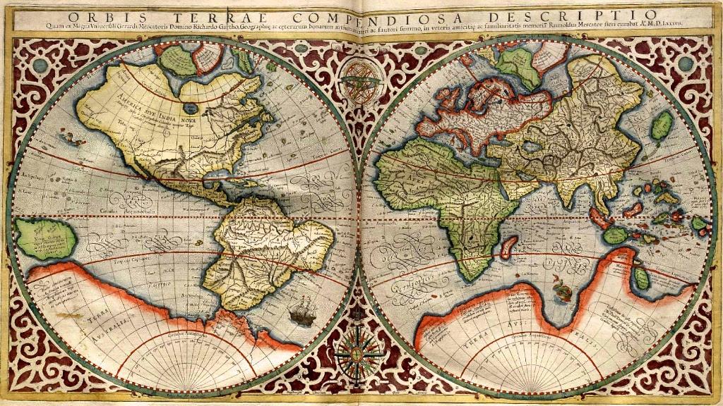 Carte de Mercator