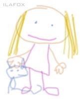 desenho de criança garatuja 3 a 4 anos
