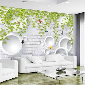 Wallpaper Kamar Tidur Bata Putih