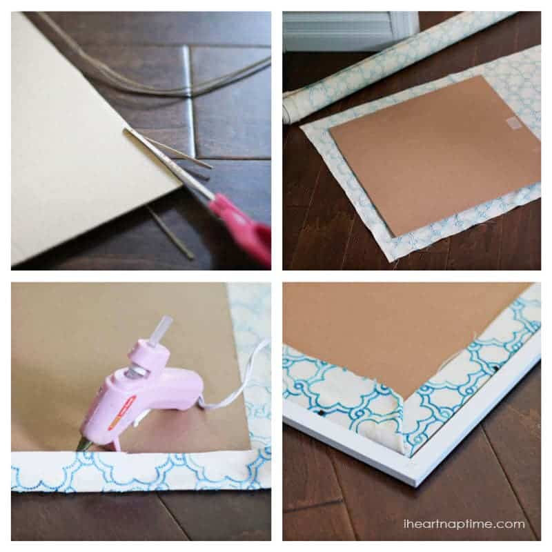 DIY fabric art I Heart Nap Time | I Heart Nap Time - Easy recipes ...