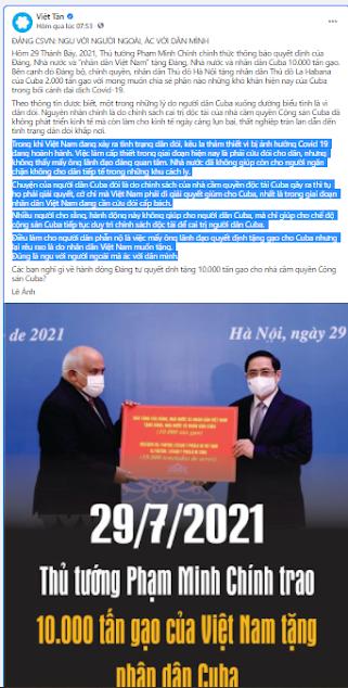 Việt tân: Đừng biến dân tộc thành kẻ thất đức!