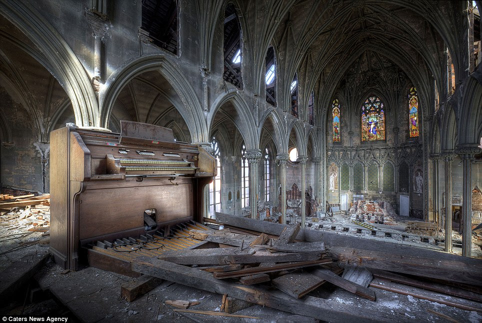 Image result for derelict churches