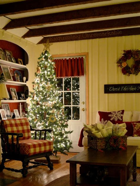 simple rustic christmas exquisitely unremarkable
