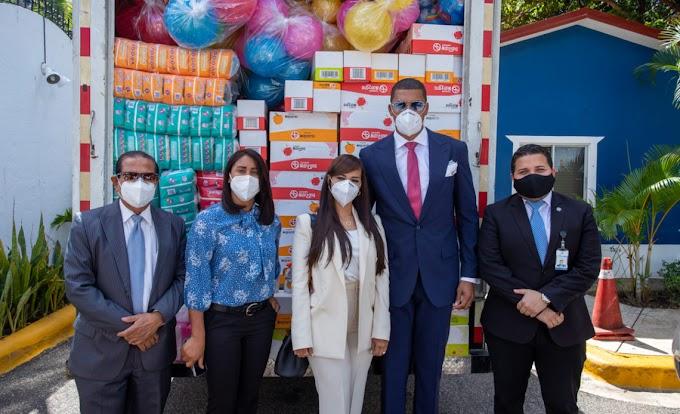 PELOTEROS DE GRANDES LIGAS DONAN MILES DE INSUMOS Y ALIMENTOS PARA INFANTES DE CENTROS CAIPI Y CAFI