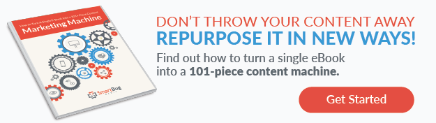 repurpose an ebook into content marketing