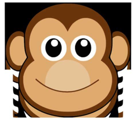 monyet clip art  clkercom vector clip art