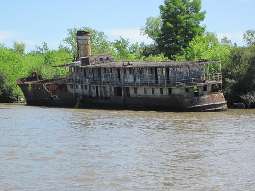 old riverboat
