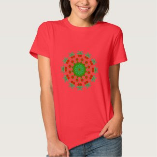 Ornamental Red and Green Products Shirt