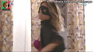 Diana Chaves sensual em lingerie na novela Vidas Opostas