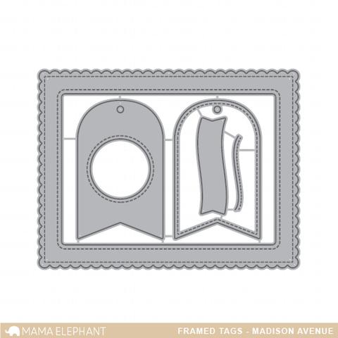 Framed Tags - Madison Avenue - Creative Cuts