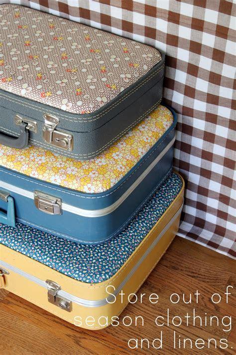 20 DIY Vintage Suitcase Decorating Ideas!   Oh My Creative