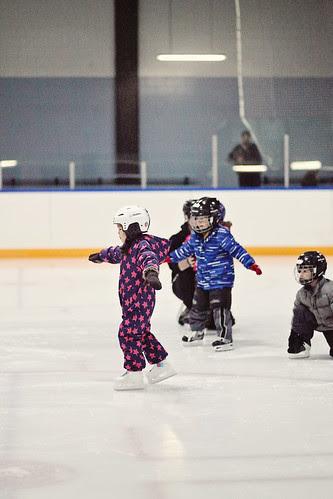 2nd year skating class