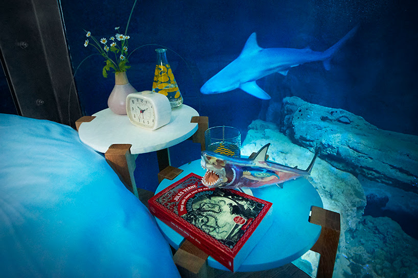 shark suite airbnb-ubi-bene-paris-aquarium