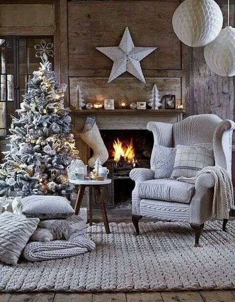Cozy christmas  Christmas decor  Pinterest