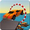 Mindsol Studio - Floating Aqua Car Stunt artwork