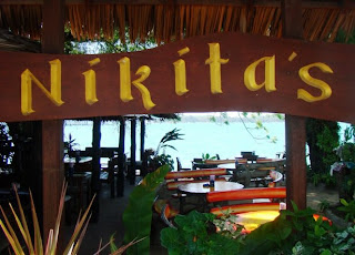 Entrance to Nikitas Bar, Rawai Beach