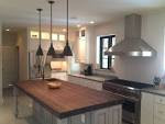 Excellent Natural Woods Butcher Block Island With Three Unique ...