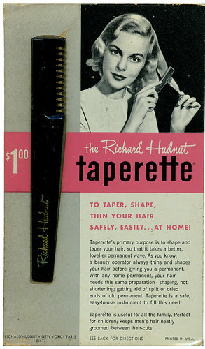 richard hudnut taperette_ft_tatteredandlost