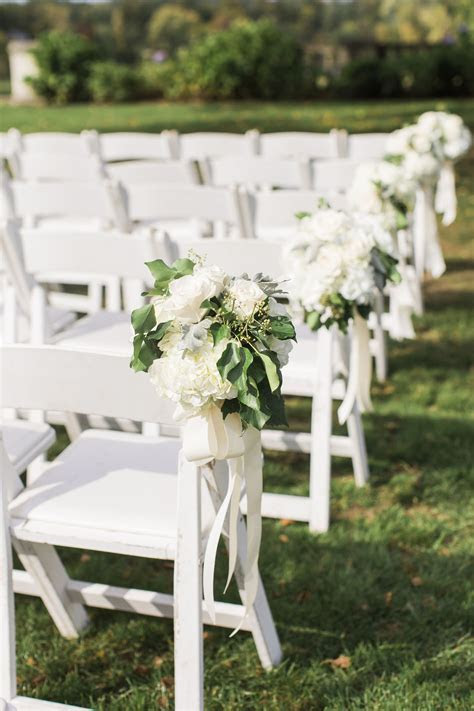 The Smarter Way to Wed   Chair Décor   Chiavari chairs
