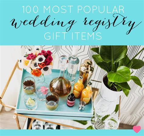 The Top 100 Wedding Registry Products on Amazon Right Now