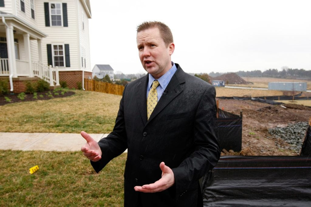 Corey Stewart, chairman of the Prince William County Board of Supervisors, promoted an ordinance requiring the police department to help enforce federal immigration law. (Photo: Kevin Lamarque/Reuters/Newscom)