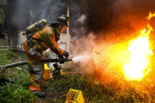 Putting out fires by The U.S. Army