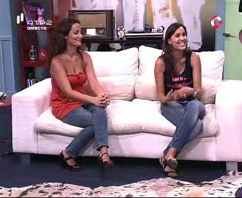 Crica para veres a 1ª parte do 5 Para a Meia-Noite de 2009-08-11, com a Vânia Beliz e a Madalena Palma