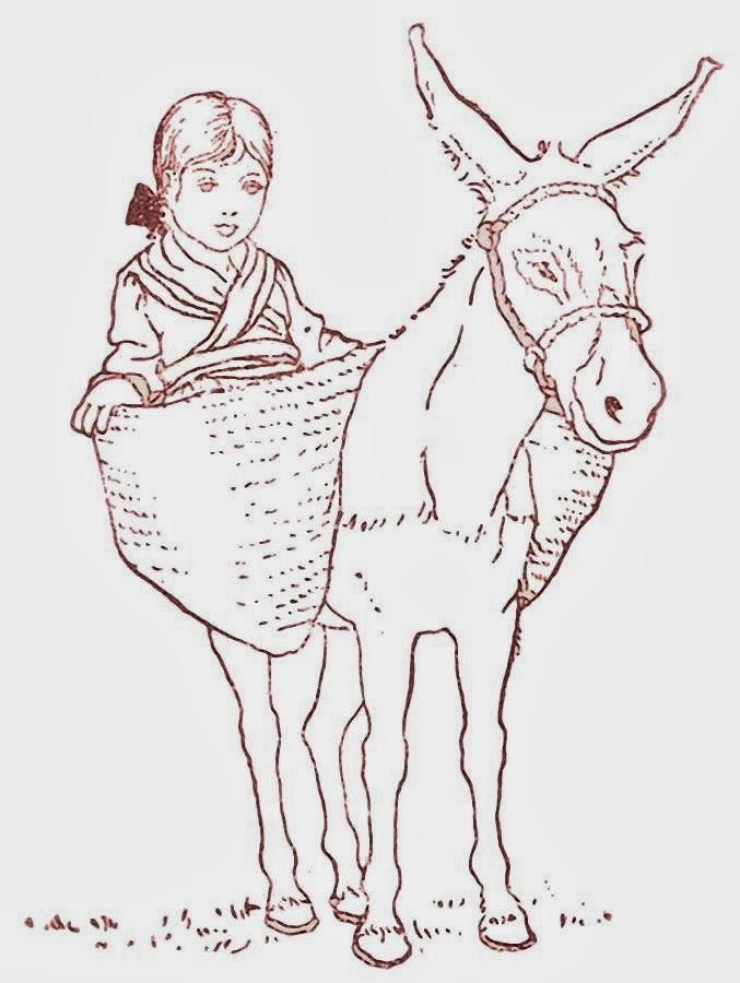 Platero y yo - Ilustración de Fernando Marco - Primera edición 1914