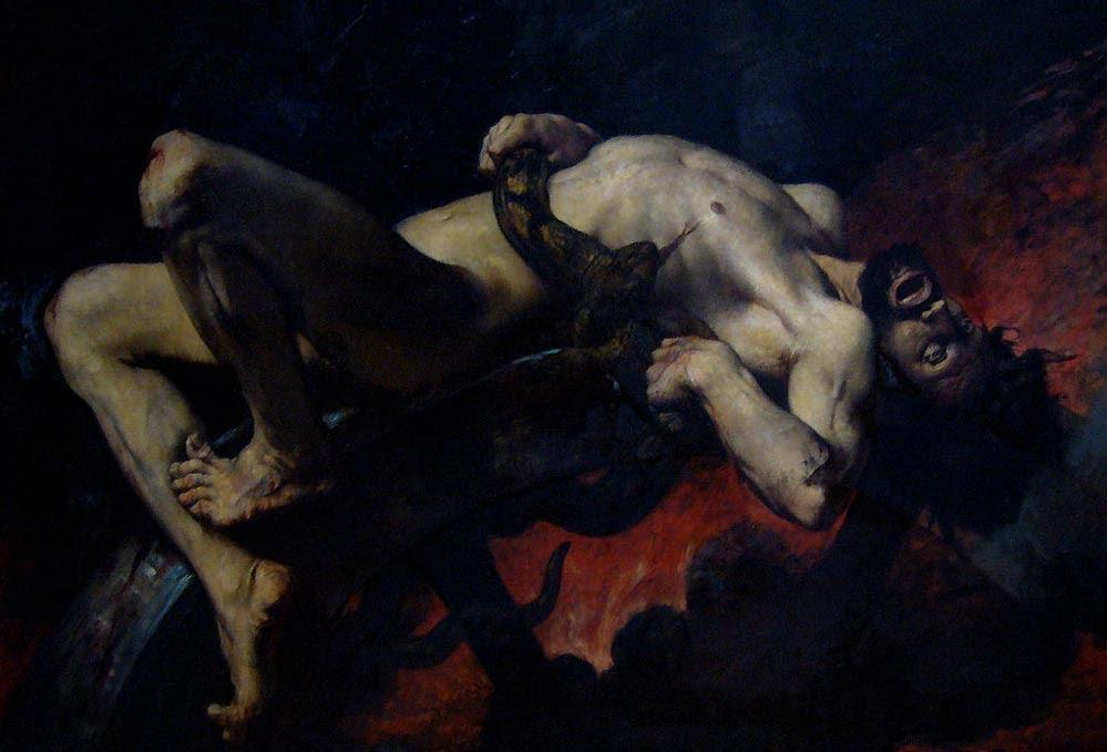 """Eternal Punishment in Greek Mythology"""