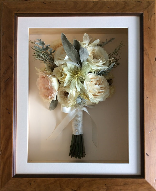 Wedding Bouquet Preservation By Infinity Flowers