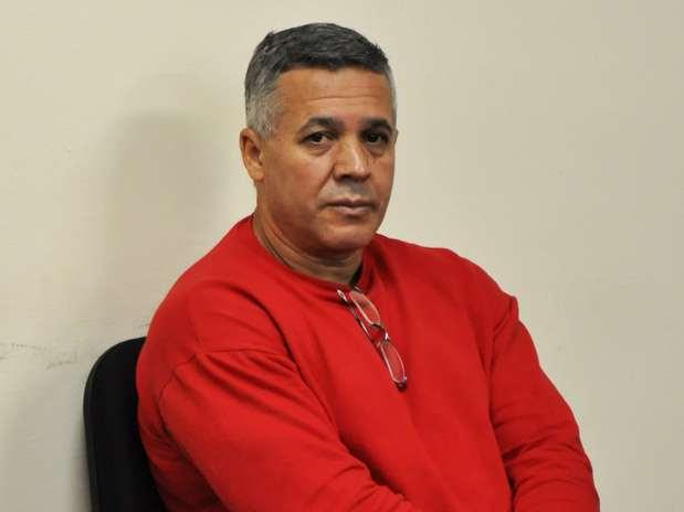 O interrogatório de Bola neste sexto dia de julgamento começou às 10h50 Foto: Renata Caldeira / TJMG / Divulgação