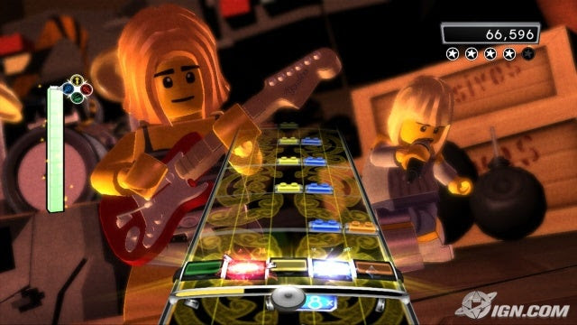 LEGO Rock Band Screenshot
