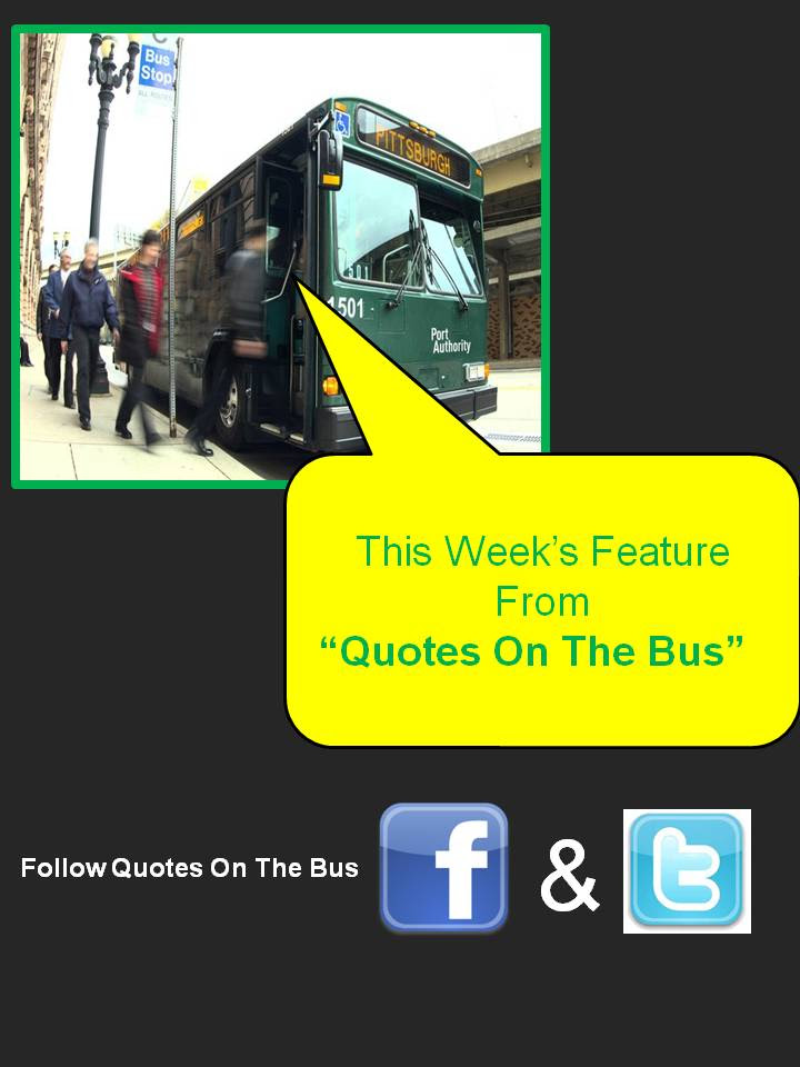Quotes About Bus 409 Quotes