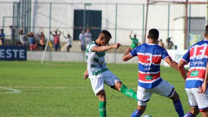 Altos x Fortaleza, Copa do Nordeste (Foto: Renan Morais)