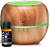 #8: ArtNaturals Essential Oil Diffuser with Signature Zen Blend – (150ml Tank with 10ml Blend) – Ultrasonic Cool Mist Aroma Humidifier-Auto Shut-Off and 7 Color LED Lights–Therapeutic Aromatherapy