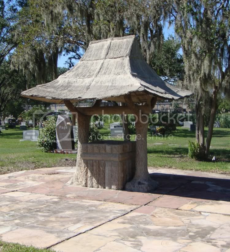 Forest Park stone well