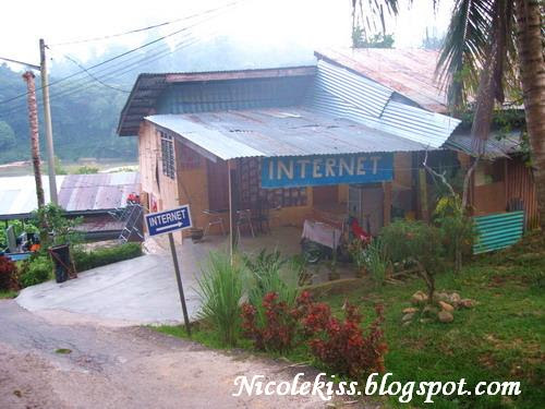 internet cafe in the jungle?