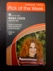 Starbucks iTunes Pick of the Week - Nikka Costa - Stuck To You