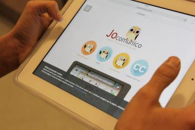 <p>La app Jocomunico, de pictogramas para personas con discapacidad intelectual ha sido desarrollada dentro del proyecto Talentum de Telefónica, apoyado por Ericsson y la Fundación Adecco. / Telefónica</p>