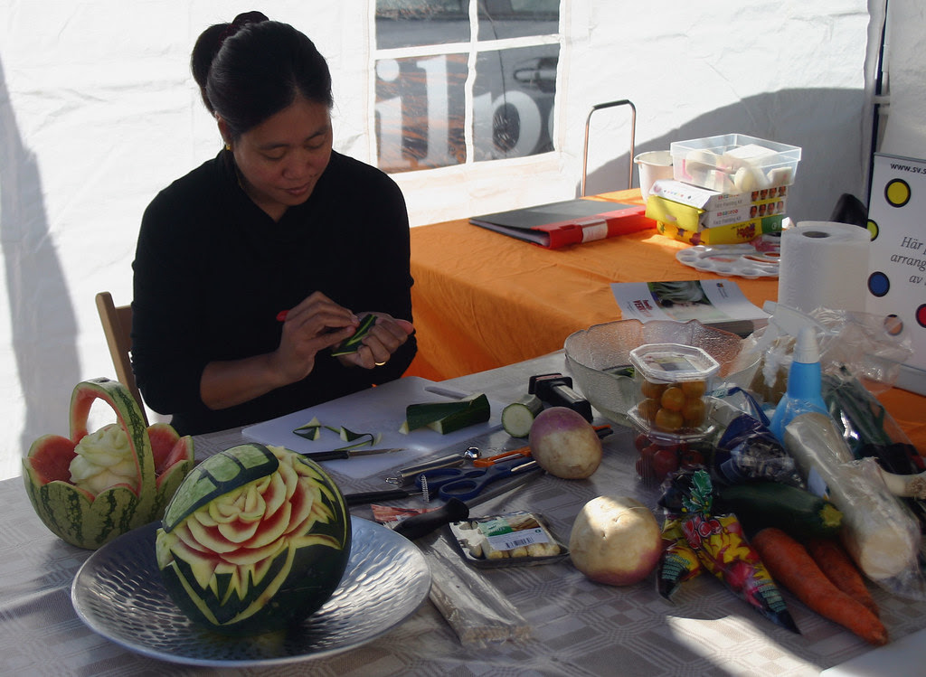 Watermelon Carving Made Easy