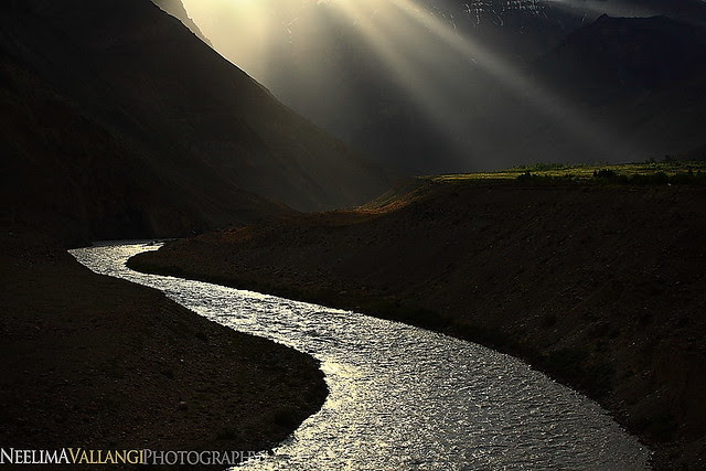 Sky Light in Spiti, one evening!