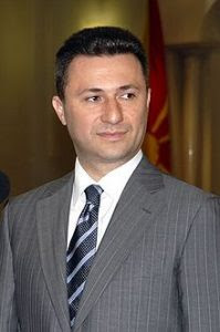 PM of Macedonia Nikola Gruevski