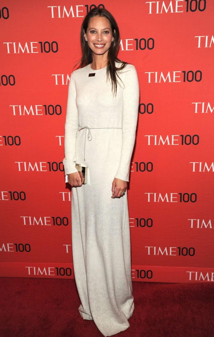 Christy Turlington – TIME 100 Gala 2014 -01