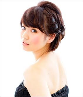 2016秋向け髪型50選!黒髪ショートの簡単ヘアアレンジ! カウモ - ショートヘア アレンジ 黒髪