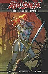 Red Sonja The Black Tower graphic novel cover